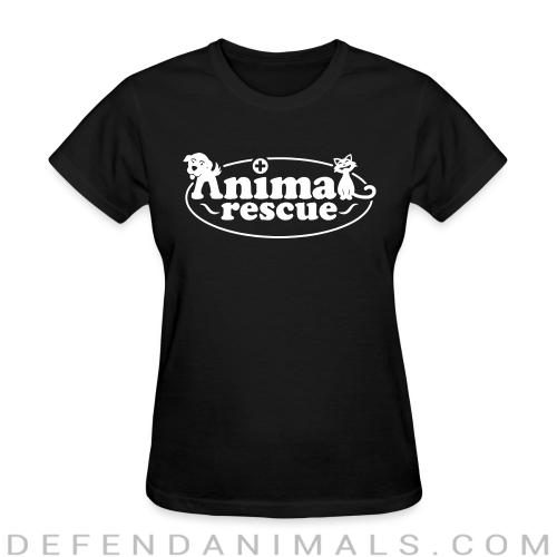 Women's t-shirt animal rescue  - Animal Rights Activism