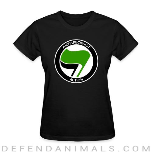Antispeciesist action - Animal Rights Activism Women T-shirt