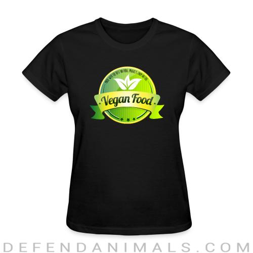 Made with the best natural product from nature Vegan food  - Vegan Women T-shirt