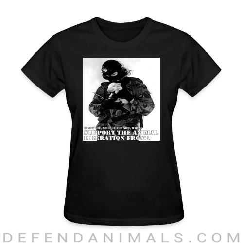 Support the animal liberation front - Animal Rights Activism Women T-shirt