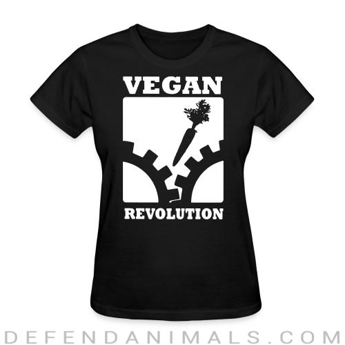Women's t-shirt Vegan Revolution  - Vegan Women Shirts