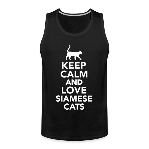Keep calm and love siamese cats