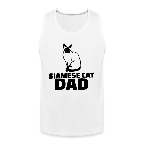 Siamese cat dad