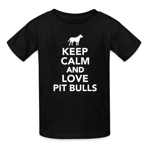 keep calm and love pit bull