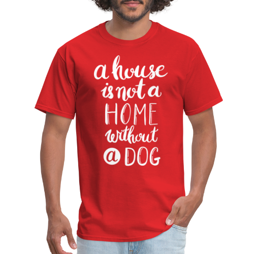 A house is not a home without a dog