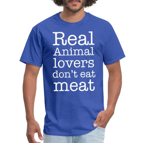 Real animal lovers don't eat meat