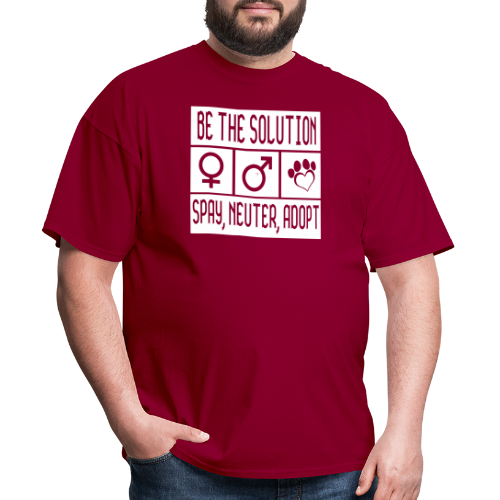 Be the solution spay, neuter , adopt