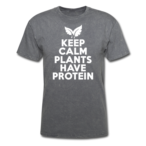 Keep calm plants have protein