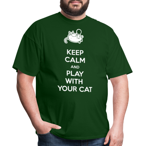 Keep calm and play with your cat