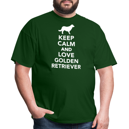 Keep calm and love Golden Retriever