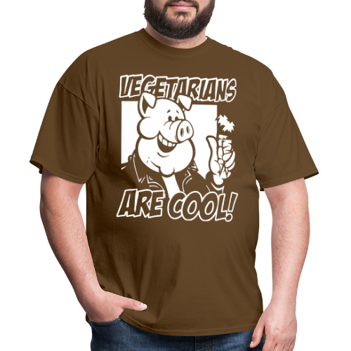 Vegetarians are cool!