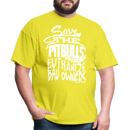 Save the pit bulls - euthanize bad owners
