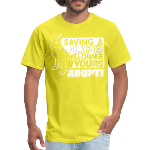 Saving a life will changes yours. Adopt!