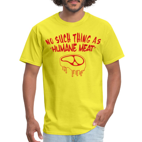 """No such thing as """"humane meat"""""""