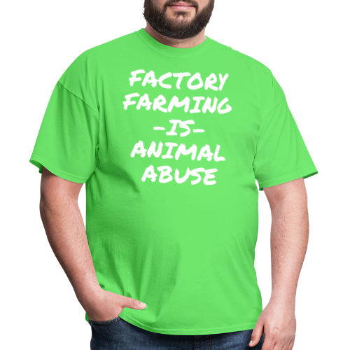 Factory farming IS animal abuse
