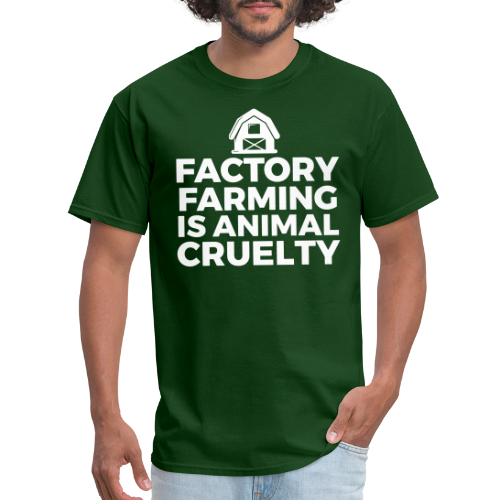 Factory farming is animal cruelty
