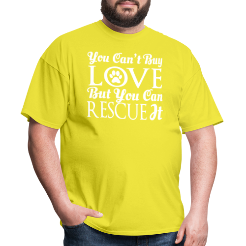 You can't buy love but you can rescue it