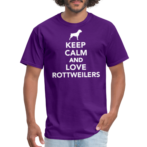 Keep calm and love Rottweilers
