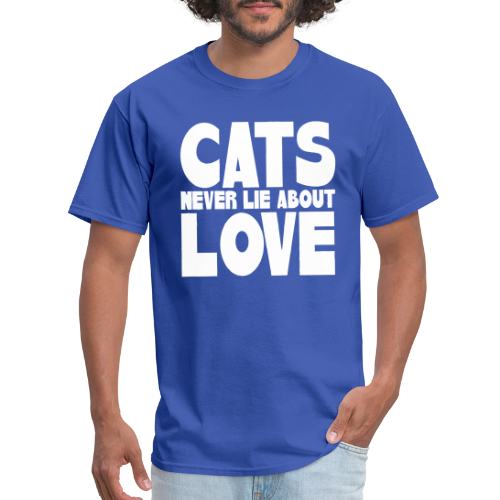 Cats never lie about love