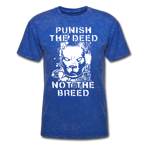 Punish the deed not the breed